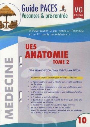 UE5 Anatomie Tome 2 - vernazobres grego - 9782818306406