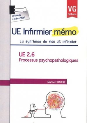 UE 2.6 Processus psychopathologiques - vernazobres grego - 9782818307700 -