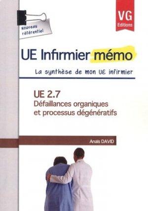 UE 2.7 Défaillances organiques et processus dégénératifs - vernazobres grego - 9782818307724 - rechargment cartouche, rechargement balistique
