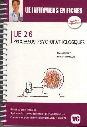 UE 2.6 processus psychopathologiques - vernazobres grego - 9782818308141