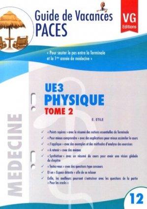 UE 3 Physique Tome 2 - vernazobres grego - 9782818309650