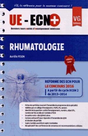 UE ECN+ Rhumatologie - vernazobres grego - 9782818309735 -