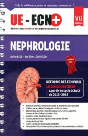 UE ECN+ Néphrologie - vernazobres grego - 9782818309766 -