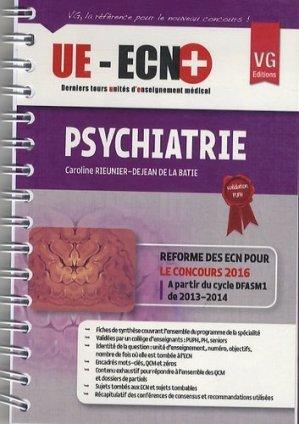 UE ECN+ Psychiatrie - vernazobres grego - 9782818311936 -