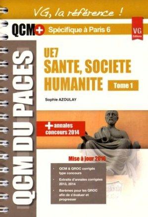 UE7 santé, société, humanité optimisé pour Paris 6 - vernazobres grego - 9782818314746 -