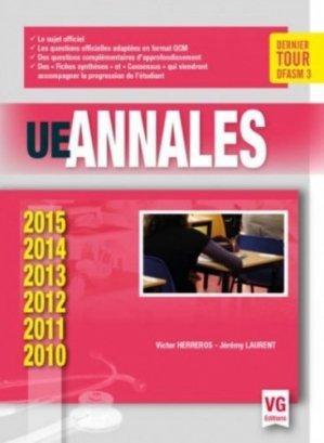 UE Annales 2010-2015 - vernazobres grego - 9782818314814 -