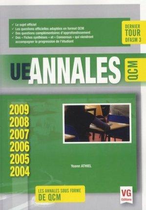 UE Annales ECN QCM 2004-2009 - vernazobres grego - 9782818314937 -