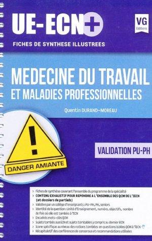 UE ECN+ Médecine du travail et maladies professionnelles - vernazobres grego - 9782818314975 -