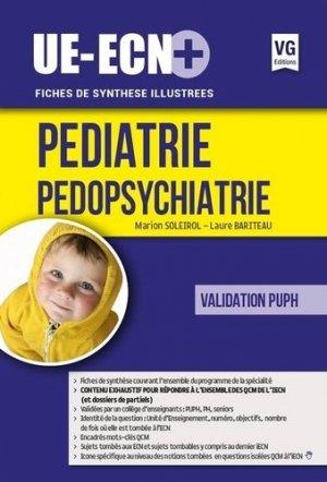 UE ECN+ Pédiatrie Pédopsychiatrie - vernazobres grego - 9782818315460 -