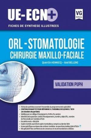 UE ECN+ Orl - Stomatologie - Chirurgie Maxillo-faciale - vernazobres grego - 9782818315583 -