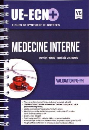 UE ECN+ Médecine interne - vernazobres grego - 9782818315590 -