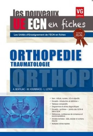 UE ECN en fiches Orthopédie Traumatologie - vernazobres grego - 9782818315606 -