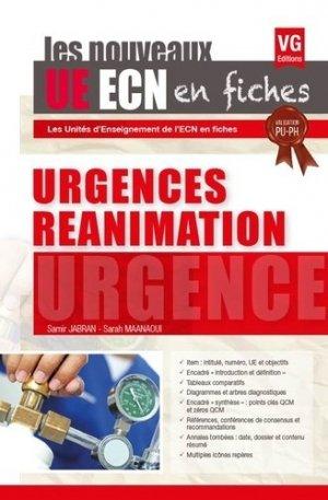 UE ECN en fiches Urgences Réanimation - vernazobres grego - 9782818315613 -
