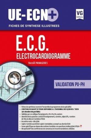 UE ECN+ Electrocardiogramme - vernazobres grego - 9782818315736 -