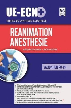 UE ECN+ Réanimation Anesthésie - vernazobres grego - 9782818315750 -