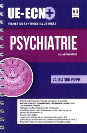 UE ECN+ Psychiatrie - vernazobres grego - 9782818316191 -