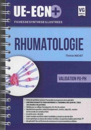 UE ECN+ Rhumatologie - vernazobres grego - 9782818316429 -