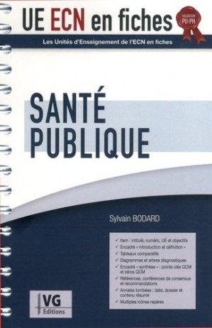 UE ECN en fiches Santé publique - vernazobres grego - 9782818316542 -