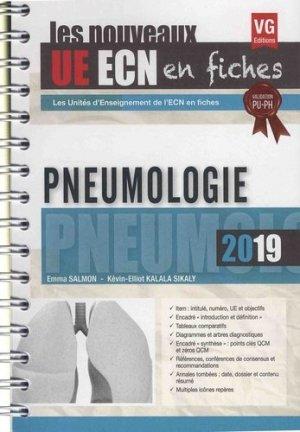 UE ECN en fiches Pneumologie - vernazobres grego - 9782818317105 -