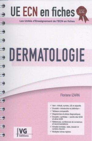 UE ECN en fiches Dermatologie - vernazobres grego - 9782818317419 -