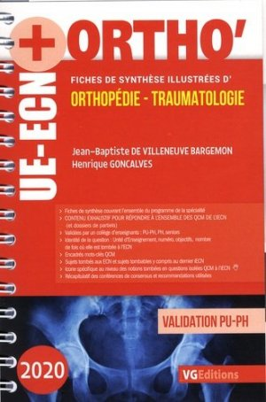 UE ECN+ Orthopédie Traumatologie - vernazobres grego - 9782818317464 -