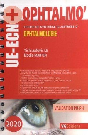 UE ECN+ Ophtalmologie - vernazobres grego - 9782818317471 -