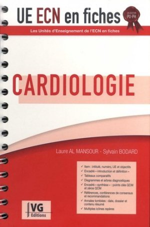 UE ECN en fiches Cardiologie - vernazobres grego - 9782818317549 -