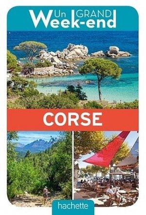 Un grand week-end en Corse - Hachette - 9782017008606 -
