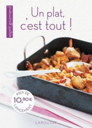 Un plat, c'est tout ! - Larousse - 9782035852038 -