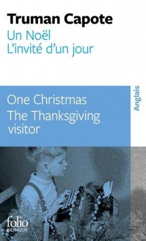 Un Noël - L'Invité d'un Jour - gallimard editions - 9782072893322 -