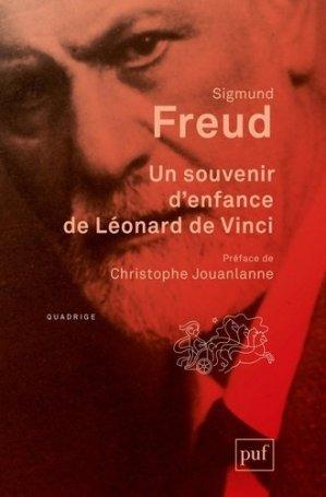 Un souvenir d'enfance de Léonard de Vinci - puf - 9782130817734