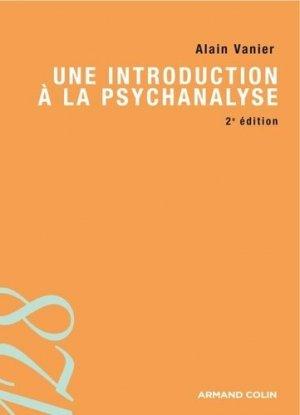 Une introduction à la psychanalyse - armand colin - 9782200246396 -