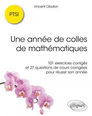Réussir ses colles de mathématiques en PTSI - ellipses - 9782340023833 -