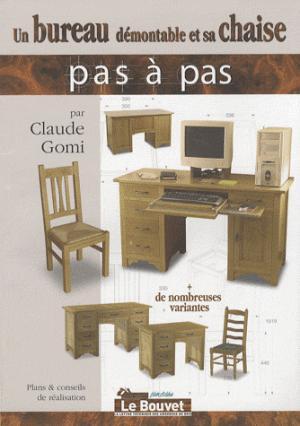 Un bureau démontable et sa chaise - le bouvet - 9782350580395 -