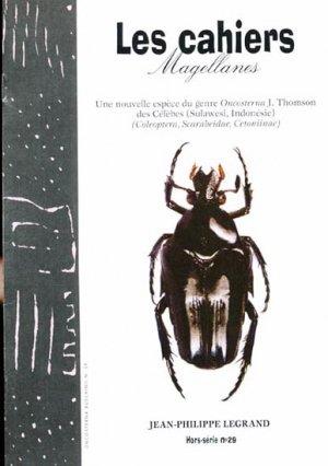 Une nouvelle espèce du genre Oncosterna J. Thomson des Célèbes Sulawesi, Indonésie - magellanes - 9782353870486 -
