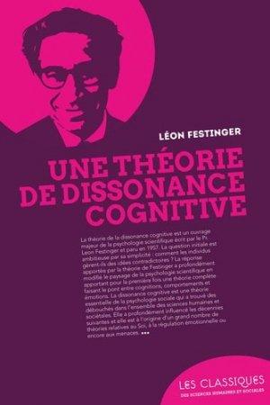 Une théorie de la dissonance cognitive - enrick b - 9782356441522 -