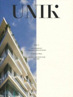 Unik. 159 logements à Boulogne-Billancourt, Edition bilingue français-anglais - Archibooks - 9782357334250 -