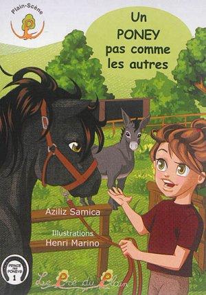 Un poney pas comme les autres - le pre du plain - 9782358631358 -