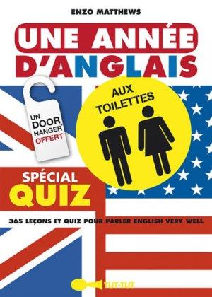 Une année d'anglais aux toilettes - tut tut - 9782367041377 -
