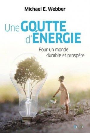 Une goutte d'énergie - Belin - 9782410023039 -