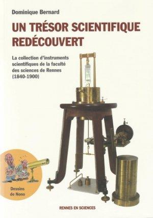 Un trésor scientifique redécouvert - rennes en sciences - 9782490401024 -