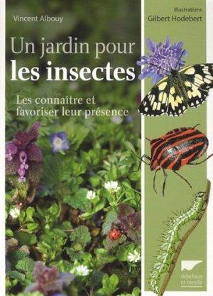 Un jardin pour les insectes - delachaux et niestle - 9782603019573 -