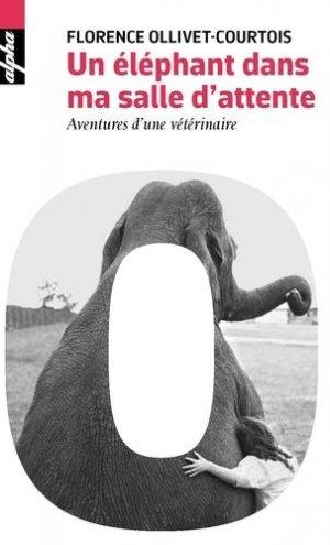 Un éléphant dans ma salle d'attente - belin - 9782701195568 -
