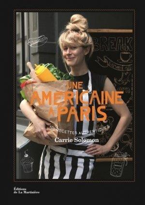 Une américaine à Paris - de la martiniere - 9782732461625 -