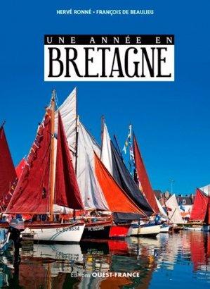 Une année en Bretagne - ouest-france - 9782737374975 -
