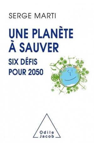 Une planète en sursis - odile jacob - 9782738150721 -