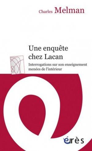 Une enquête chez Lacan - eres - 9782749214887 -
