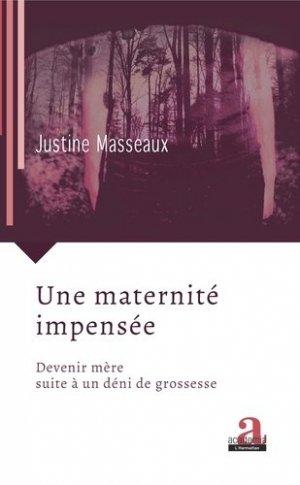 Une maternité impensée - academia bruylant - 9782806104625 -
