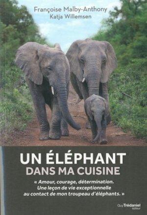 Un éléphant dans ma cuisine - guy tredaniel editions - 9782813219794 -