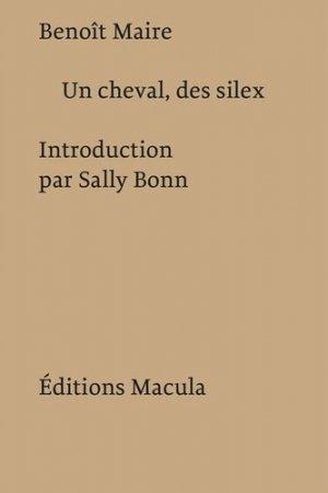 Un cheval, des silex - Editions Macula - 9782865891252 -